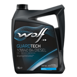 Двигателно масло WOLF GUARDTECH 10W40 B4 5л